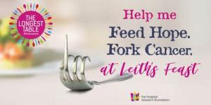 The Longest Table Dinner - Leiths Feast to #forkcancer