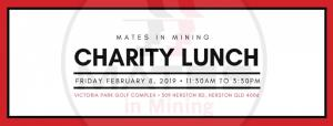 1st ANNUAL MATES IN MINING CHARITY LUNCH