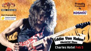 Van Halen Memorial:Cancer Council Fundraiser:Charles Feb 5th