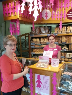 The Breast Cancer Network Australia (BCNA) Pink Bun Campaign at Baker's Delight is here!