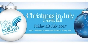 July 28 Fight On The Beaches Christmas In July Ball 2017 - Terrey Hills Sydney