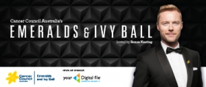 Support Oct 9 Cancer Council Australia's Emeralds & Ivy Ball in Sydney