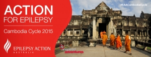 Action for Epilepsy - Cambodia Cycle 2015