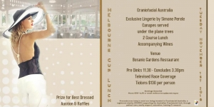 Nov 1 Melbourne Cup Lunch Fundraiser for Australian Cranio-Maxillo Facial Foundation - Adelaide