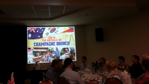 Alby Mangels Philippines Aid Australia Day Champagne Charity Brunch