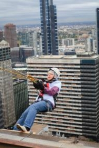 Altitude Shift Abseil Challenge: Go Over the Edge to Support Foster Families - Anglicare Victoria