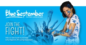 Support Blue September and Prostate Cancer Research