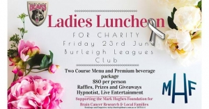 June 23 Burleigh Bears QLD Ladies Luncheon Charity Fundraiser