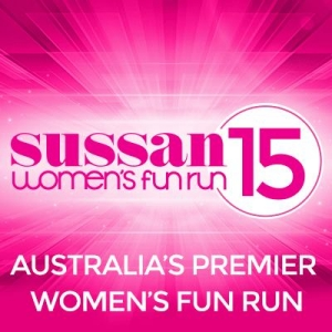 Support Sunday 6 December Sussan Women's Fun Run in Melbourne