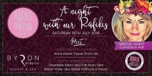 July 16 - A Night With Our Rafikis Fundraiser - Byron Bay NSW