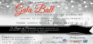 Support Oct 30 Gala Ball for Gold Coast Businesses