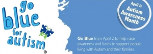 Go Blue for Autism in April!