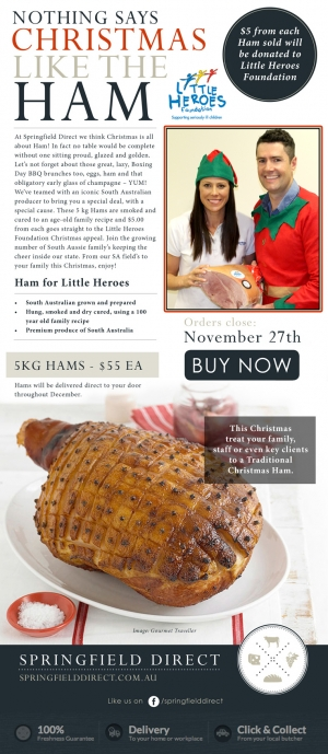 Xmas Ham for Little Heroes