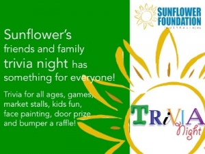 August 26 Trivia Night - Sunflowers Friends & Family Trivia Night - Richmond Melbourne