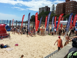 CharityDOs at the Cole Classic Swim @ Manly Beach Sydney