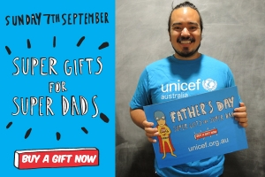 Support UNICEF Super Dads