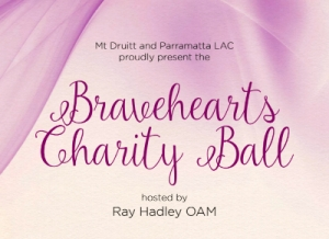 Support the Oct 17 Bravehearts Charity Ball by the NSW Police Force Mt Druitt & Parramatta LAC
