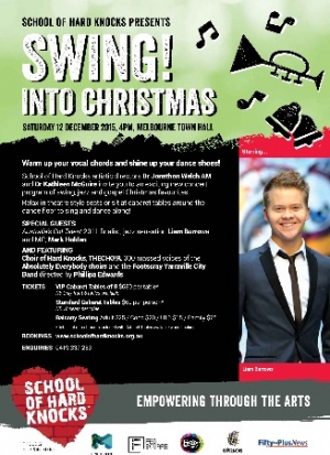 Dec 12 Swing! Into Christmas - School of Hard Knocks - Melbourne