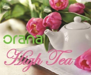 Sun April 10 - Orana's High Tea Fundraiser - Novar Gardens SA