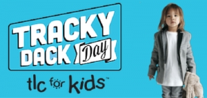 During May 2016 - Support Tracky Dack Day for TLC For Kids