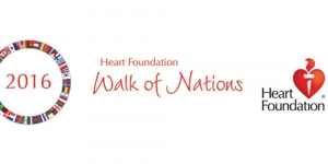 Sept 17 Walk Of Nations for The Heart Foundation - Canberra