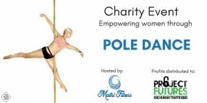 Aug 19 Empowering Women Through Pole Dance Fundraiser - Sydney