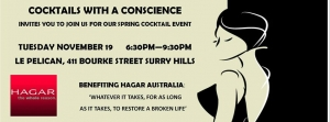 Support Cocktails with a Conscience