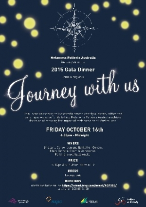Support the Melanoma Patients Australia Gala Dinner Oct 16 in Brisbane
