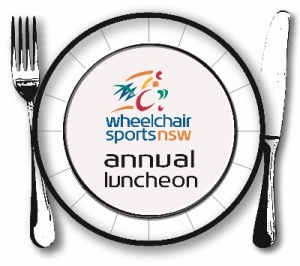 Oct 21 - Wheelchair Sports NSW 2016 Annual Luncheon - Sydney