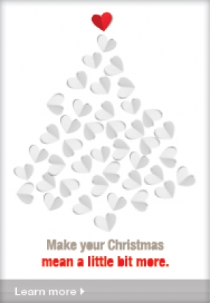 Give a Christmas - Donate to the Heart Foundation