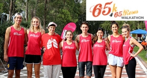 Feb 25 - 65k 4 65 Roses Walkathon 2017 - Sydney