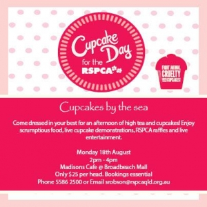 Enjoy Gold Coast Cupcakes By the Sea for the RSPCA