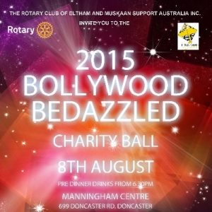 Support Aug 8 Bollywood Bedazzled Charity Ball - Melbourne