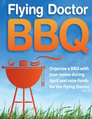 Hold a Royal Flying Doctor Service Fundraising BBQ in April!