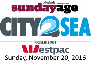 Nov 20 The Sunday Age City2Sea Presented by Westpac - Fundraise for a Charity - Melbourne