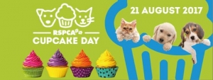 Aug 21 RSPCA Cupcake Day 2017