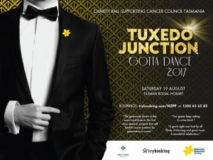 Aug 19 Tuxedo Junction for Cancer Council Tasmania - Hobart