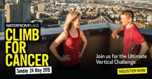 May 29 - Climb for Cancer 2015 for Mater Foundation - Brisbane