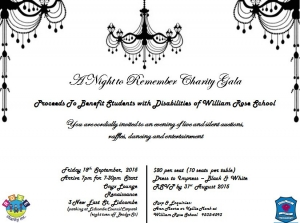 You're Invited - Sept 18 R.O.S.E Charity A Night to Remember Charity Gala - Lidcombe Sydney
