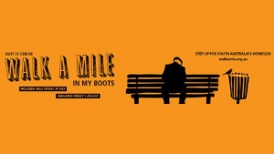 August 5 Hutt St Centre - Walk A Mile In My Boots - Adelaide
