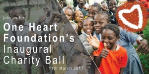 Mar 11 - One Heart Foundation Charity Ball - East Melbourne