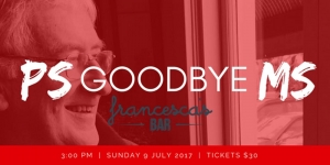 Jul 9 PS Goodbye MS - Northcote Melbourne