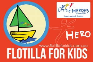 Sun Feb 7 Little Heroes Foundation Flotilla For Kids 2016 - Port Adelaide