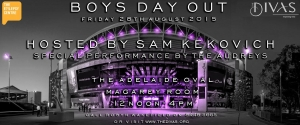 Support Aug 28 Adelaide Boys Day Out for The Epilepsy Centre