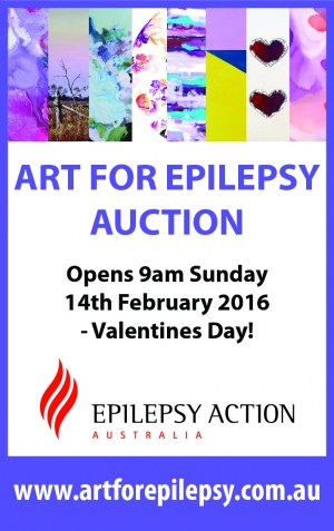 Support Sun Feb 14 ART FOR EPILEPSY AUCTION - Epping Sydney