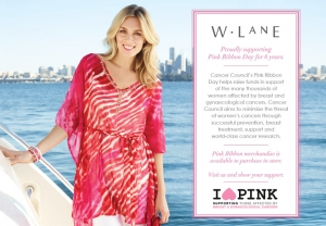 W.Lane Supports Cancer Councils Pink Ribbon Day