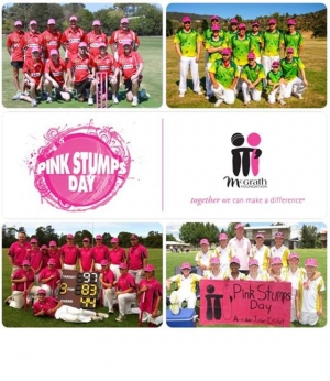 Feb 22 - McGrath Foundation Pink Stumps Day