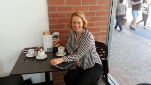Coffee with Kerry Bell from Ovarian Cancer Research Foundation