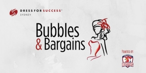 Jul 15 Sydney Dress for Success VIP Bubbles & Bargains