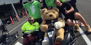 June 18 Bandaged Bear Go-kart Challenge 2016 for Westmead Autism in Luddenham NSW
